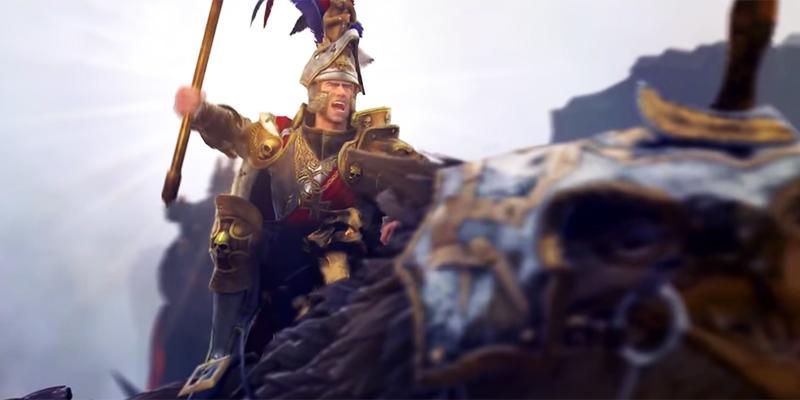 Новый трейлер Total War: Warhammer показал войну Империи с орками