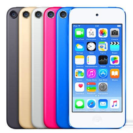 Apple представила iPod touch 6 – новое поколение плееров