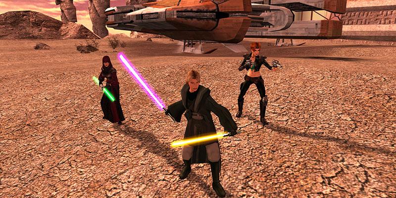 Для Star Wars: Knights of the Old Republic 2 вышел еще один патч