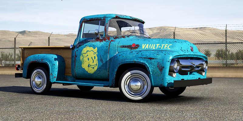 В Forza Motorsport 6 появилась машина из Fallout 4