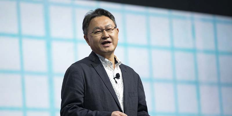 Shuhei Yoshida, President of Sony's Worldwide Studios for Sony Computer Entertainment, speaks during a media briefing before the opening day of the Electronic Entertainment Expo, or E3, at the Memorial Sports Arena in Los Angeles, California June 9, 2014.  REUTERS/Mario Anzuoni  (UNITED STATES - Tags: ENTERTAINMENT SCIENCE TECHNOLOGY) - RTR3SZD2