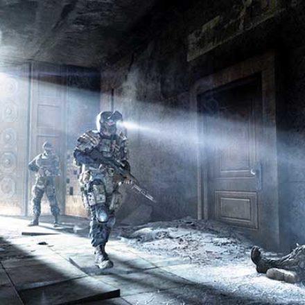 Создатели Metro 2033 заморозили разработку космического шутера