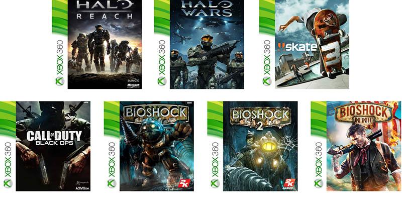 Появилось 100 игр Xbox 360, которые запустятся на Xbox One