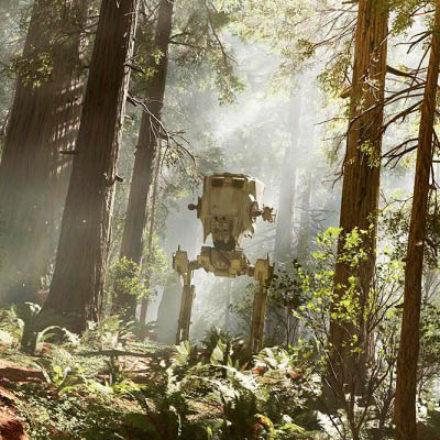 Видео геймплея Star Wars: Battlefront на Эндоре выложили в сеть