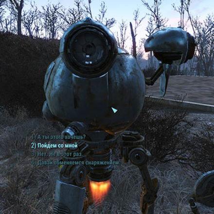 Геймер вернул в Fallout 4 стандартные диалоги