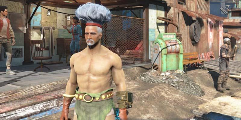 Fallout 4 журнал причесок 466