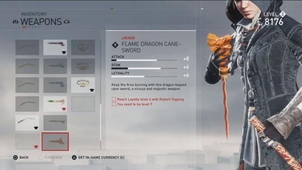 Flame Dragon Cane Sword