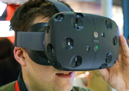 Виртуальная реальности HTC Vive выйдет весной