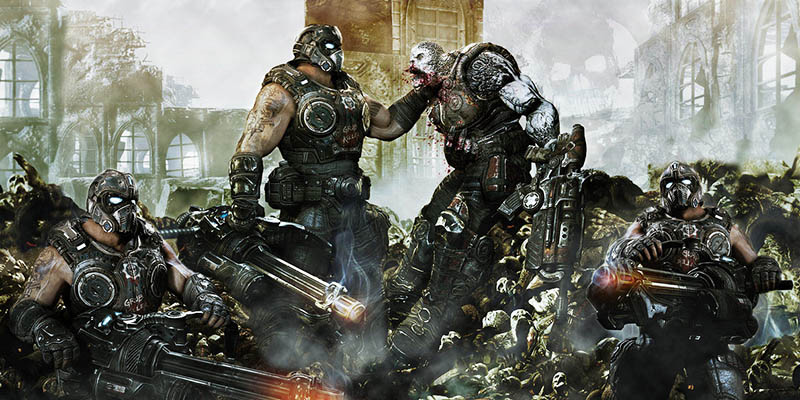 Gears of War 4 покажет, на что способна Xbox One в графическим плане