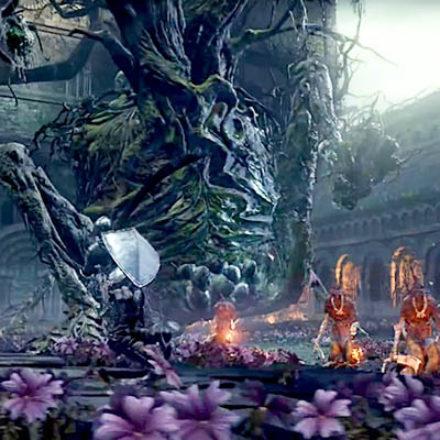 Гайд Dark Souls 3 – как победить босса Проклятое Великое Древо (Curse-rotted Greatwood): Босс #3