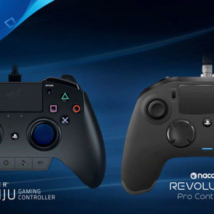 Razer и Nacon представили профессиональные геймпады для PS4