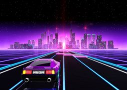 Анонсирована PS4-версия аркадной гонки Neon Drive