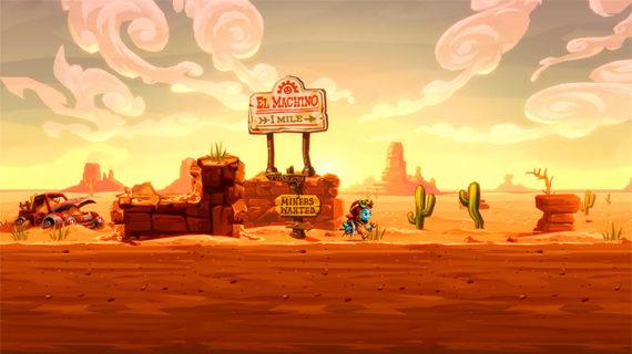 Представлен релизный трейлер SteamWorld Dig 2