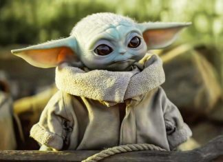 Грогу малыш Йода