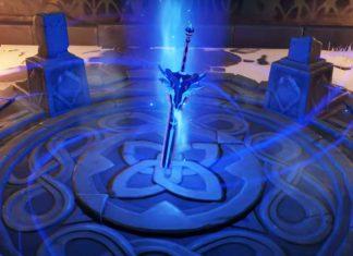 Genshin Impact меч Заснеженное звездное серебро как получить
