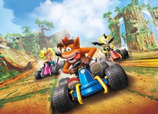 Crash Team Racing Nitro-Fueled бесплатной Nintendo Switch
