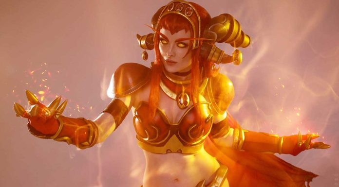 косплей Алекстразы World of Warcraft
