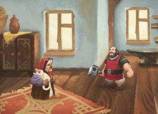 Yaga игра про Бабу-ягу сказки