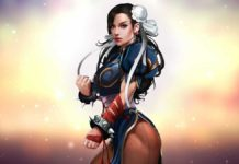Горячий косплей Чунь Ли из Street Fighter фото