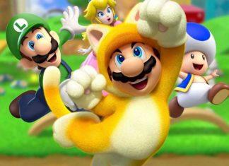 Сравнение графики Super Mario 3D World Nintendo Switch Wii U