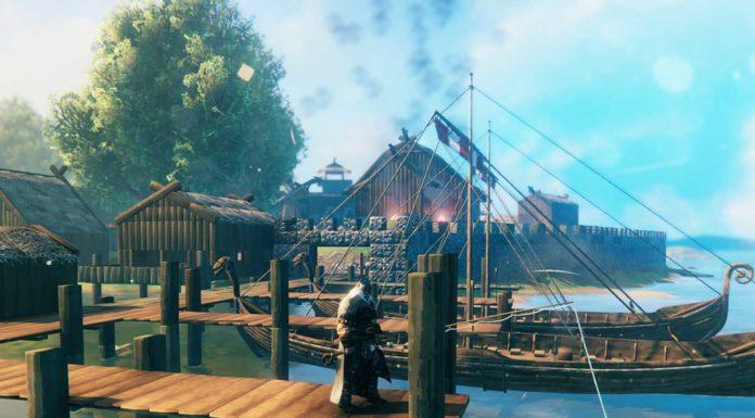 Valheim как построить док причал для кораблей и лодок