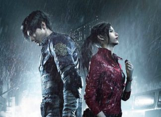 постер нового фильма Resident Evil с именами персонажей