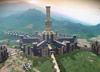 No Man's Sky дворец Имперского города из The Elder Scrolls 4: Oblivion