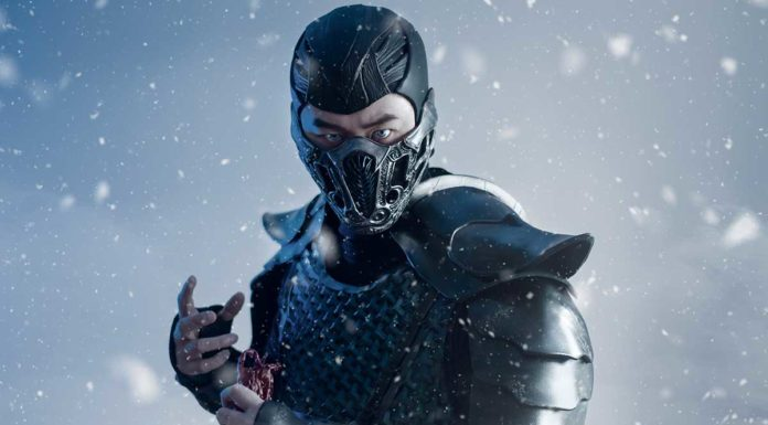 косплей Саб-Зиро из Mortal Kombat