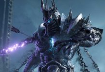 World of Warcraft Unreal Engine 4 трассировкой лучей