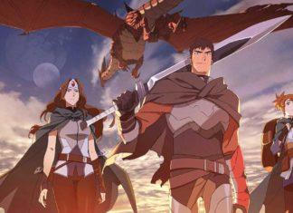 Netflix фэнтези-аниме «DOTA: кровь дракона»