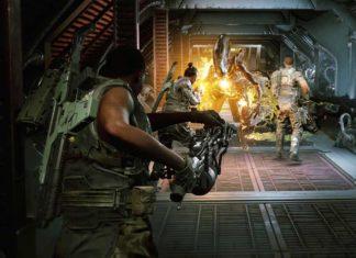 геймплей шутера про Чужих Aliens: Fireteam