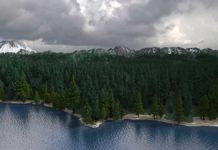 Игрок создал в Minecraft карту 256 кв км