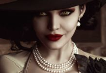 косплей Леди Димитреску Resident Evil: Village Kalinka Fox