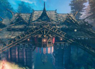 красивый дом в Valheim