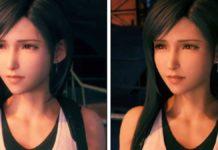 Сравнение графики Final Fantasy VII Remake на PS4 и PS5