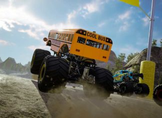 вышла Monster Jam Steel Titans 2 гонки на монстр-траках